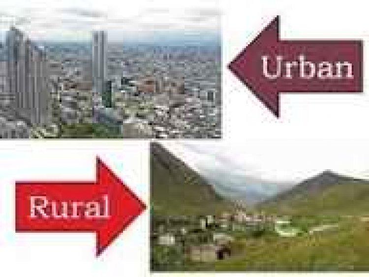 Rural Versus Urban Living