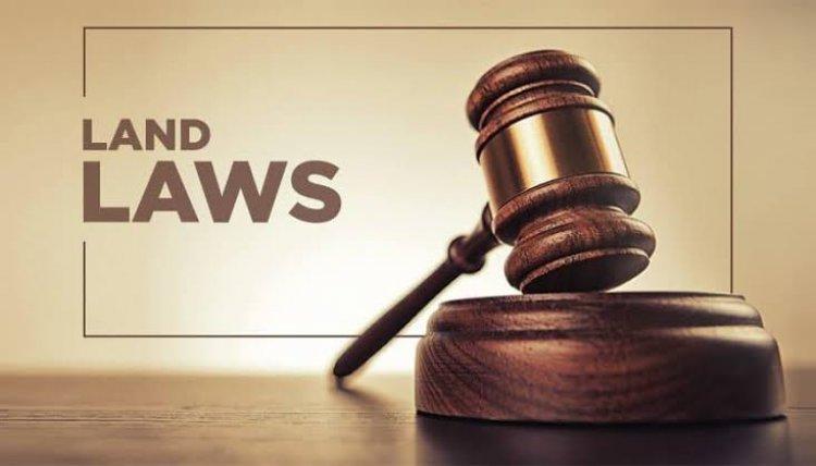 Laws Governing Lands  in Kenya