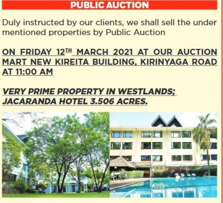 Buying Property at an Auction in Kenya