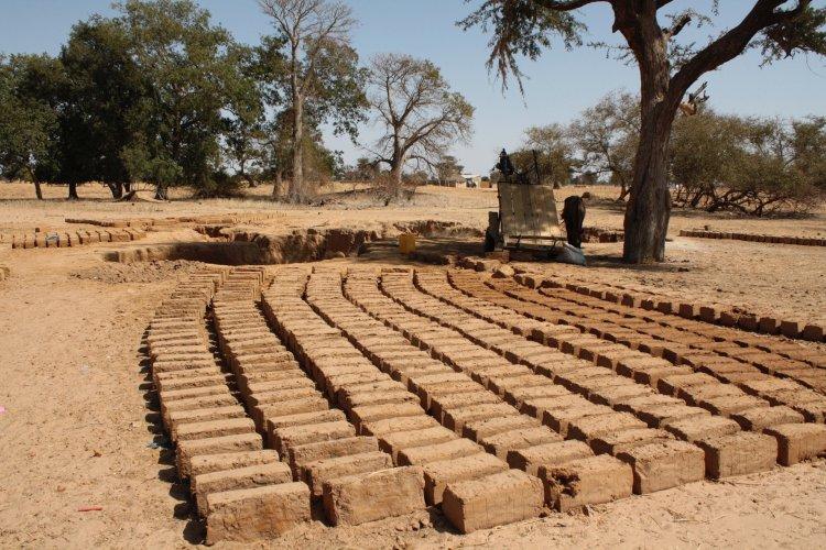 Clay Bricks and Hardcore as Construction Materials