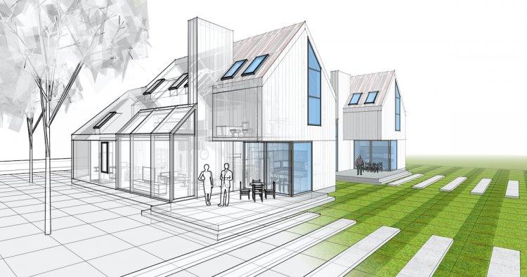 an architectural design