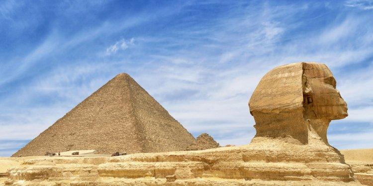 the pyramid of Giza- Egypt