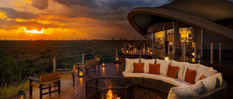 World Class Accommodation in the Maasai Mara Game Reserve