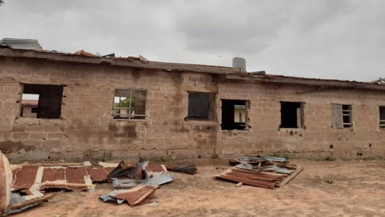 Impacts of Rainstorms on Residential Buildings in Nigeria