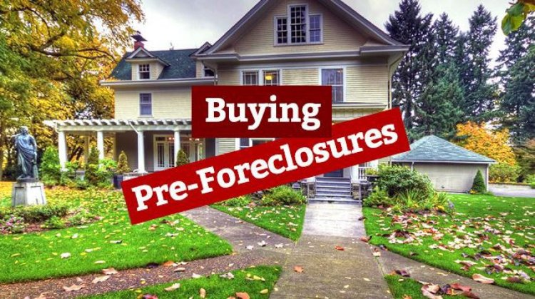 Buying A House in Pre-foreclosure