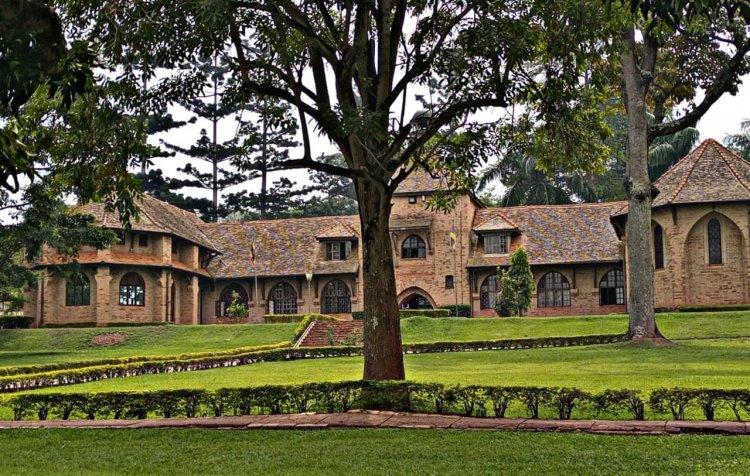 The Historical  Bishop Tucker Building at Uganda Christian University