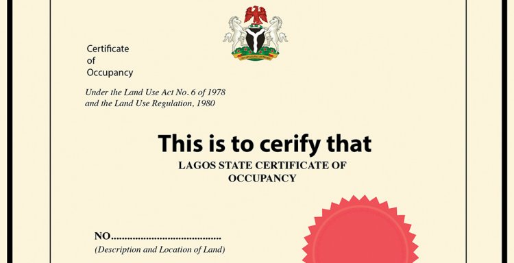 Certificate of Occupancy; The Neglect and Relative Paramountcy