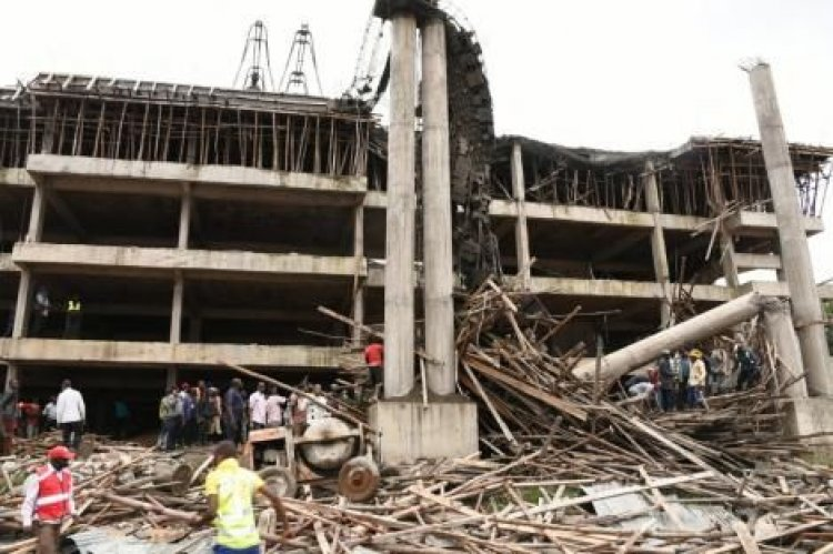 Ksh 379 Million Proposed Nyamira County Office Building Collapses, Who is at Fault?