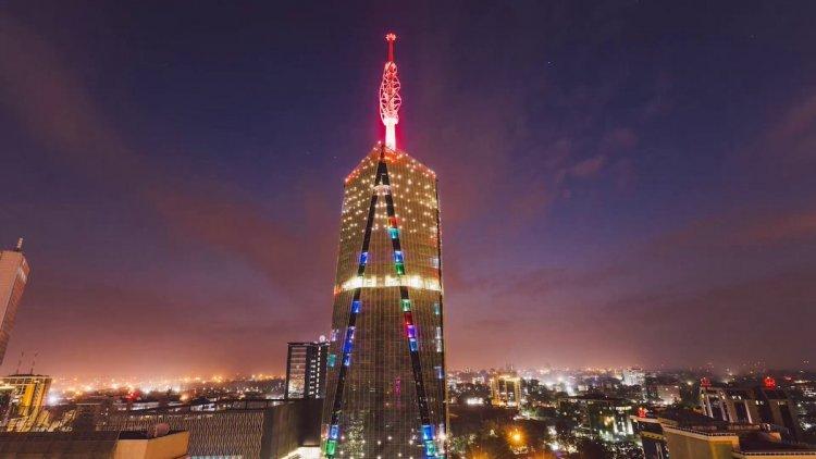 The Tallest Skyscraper that Lights Up Nairobi