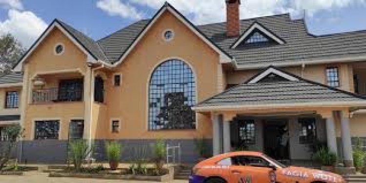 Eric Omondi's Karen Mansion